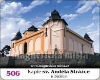 Magnetka Kaple sv. Anděla Strážce  u Sušice (Andělíček)