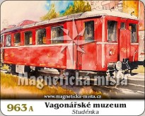 Magnetka Vagonářské muzeum